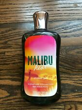 BATH & BODY WORKS MALIBU HEAT SHOWER GEL 10 OZ