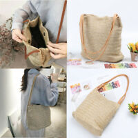 Ladies handbag Straw Bag Rattan Wicker Straw Bag Handbag Beach Bag New