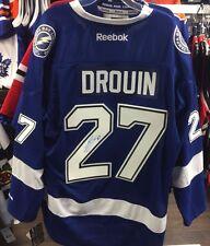 Jonathan Drouin firmado Tampa Bay Lightning Home Jersey Nhl Hockey Reebok premier