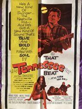 Original THAT TENNESSEE BEAT U.S. ONE SHEET MOVIE POSTER  (MINNIE PEARL) 1966