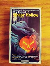 The Legend of Sleepy Hollow (Vhs, 1988) Horror StarMaker Release