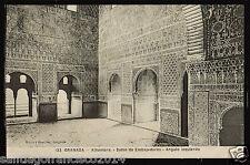 1129.-GRANADA -133 Alhambra -Salón de Embajadores -Angulo izquierdo