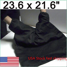 "USA Photography Portable Film Changing Bag Camera Dark Room Black  23.6"" x 21.6"""