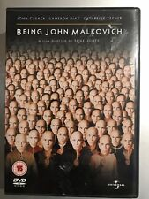 John Cusack Cameron Diaz BEING John MALKOVICH ~1999 Cult Comedy Classic UK DVD