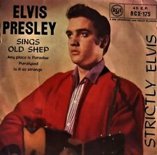 "Elvis Presley ‎- Strictly Elvis EP (7"") (G+/G)"