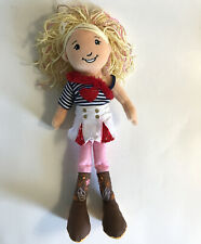 New ListingGroovy Girls Doll Savanna Plush Doll Manhattan Toy Co Girl Red White Blue Outfit