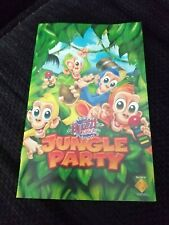 Instruction Manual - For Playstation 2 Game  Buzz junior Jungle Party - PS2
