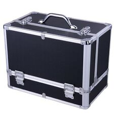 Professional Beauty Make up Box Nail Jewelry Cosmetic Vanity Case Large Storage