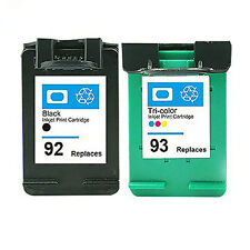Ink Cartridges for HP 92 93 Use in HP Photosmart C3135 C3140 C3150 C3180 C4180