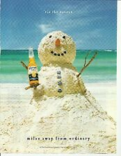 miles away from the ordinary. - Corona - Beer ad