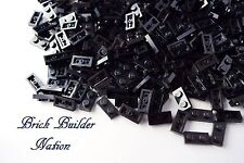 ☀️Lego 1x2 BLACK Plate x100 Building Part Piece Bulk Lot Legos #3023