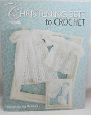Christening Sets to Crochet Leisure Arts by Kay Meadors S7p43