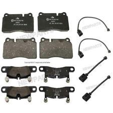 Volkswagen Touareg 2015-2016 Front & Rear Brake Pad Set & Sensors Ate/Textar