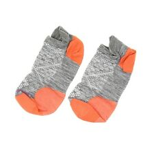 Smartwool Women's PhD Run Ultra Light Micro Sock in Light Grey 9007 Size M