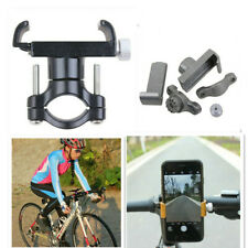 Aluminum Bicycle Phone Holder Adjustable Support Bike GPS Mobile Stand Bracket