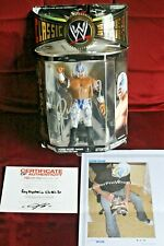 Hand Signed Rey Mysterio Action Figure With PROOF + COA