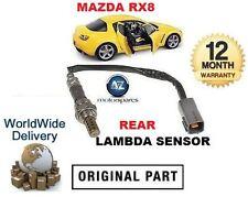 FOR MAZDA RX8 1.3i 2003-2008 REAR POST CAT O2 LAMBDA OXYGEN SENSOR 5/6 SPEED