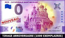 UE JV-3 / NICE - CATHEDRALE SAINT-NICOLAS / BILLET 0 € / 0 € BANKNOTE 2021-3*