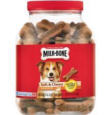 Milk Bone Biscuits Soft & Chewy Chicken Recipe Dog Treats Snacks 37 Oz 2 Pack