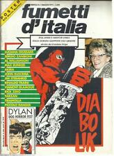 FUMETTI D'ITALIA 2 DIABOLIK IN COPERTINA , POSTER MARTIN MYSTERE