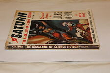 (52)SATURN Magazine of science fiction Jules VERNE / Loomis / Silverberg Barclay