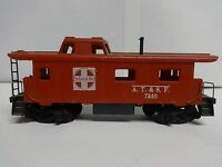 Vintage Tyco HO Scale Santa Fe A.T.&S.F. 7240 Caboose Model Railroad Train Car C