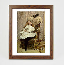 Framed print - Barber - A Rival Attraction fine art print in polcore frame