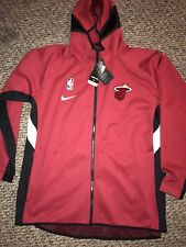 Nike Miami Heat Showtime Therma Flex Performance Full-Zip Hoodie XXL