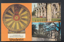 Hampshire Postcard - Views of Winchester    T8316
