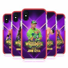 WWE WRESTLEMANIA 34 SUPERSTARS RED SHOCKPROOF BUMPER CASE FOR APPLE iPHONE PHONE