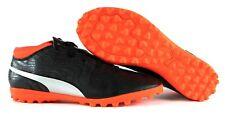 Puma one 18.4 TT Jr Kinder Fußballschuhe Schwarz Orange Soccer EUR 38 I 39