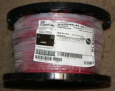Carol brand 18/4 plenum fire wire solid FPLP Red 1000 ft 18 AWG 4 cond NEW!!