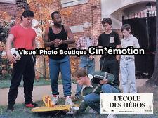 4 Photos Cinéma 20x27cm (1984) L'ÉCOLE DES HÉROS Robert Conrad, Red West, Sweeny