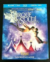CIRQUE DU SOLEIL WORLDS AWAY BLURAY & DVD WITH DIGITAL COPY