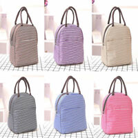 Ladies Girls Thermal Cosmetic Travel Outdoor Picnic Lunch Box Tote Storage Bag