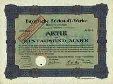 Bayerische Stickstoff Werke AG 1914 München SKW Trostberg Degussa Hüls Bielefeld