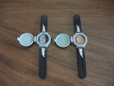 VINTAGE MIGHTY MORPHIN POWER RANGERS HOLOGRAPHIC LENTICULAR TOY WATCHES - 1995