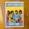 THE BEATLES Personalised Mother's / Father's Day Card - mum dad mothers fathers
