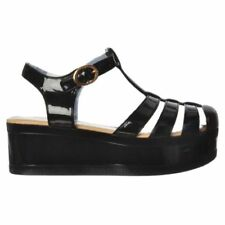Rubber Slim Med (1 3/4 to 2 3/4 in) Heel Height Sandals for Women
