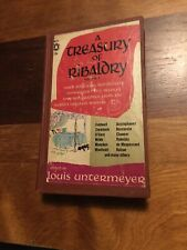 A Treasury Of Ribaldry, Louis Untermeyer, Popular Lib. W600, HC, Vintage 1959
