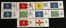 Cigarette Cards John Players Regimental Colours & Cap Badges Brown Back 1910 ju