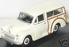 Oxford 76MMT001 Morris Minor travaller Bianco Scala 1/76 = 00 Gauge Caso T48 POST