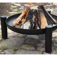 Feuerschale Palma, groß, Feuerkorb für Lagerfeuer oder Schwenkgrill, Stahl