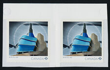 Canada 2771 Gutter Pair MNH Museum for Human Rights, Architecture