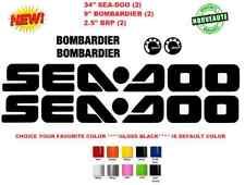 """34"""" SEA-DOO BRP LOGO SET Vinyl Personal Watercraft Replacement Decals (#779)"""