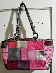 Vintage Coach Purse / Hand Bag From 2000s! Gucci Kate Spade Hammitt Daniel