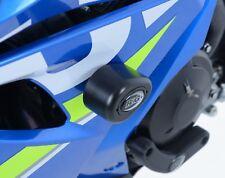 Suzuki GSX-R 1000 (2017 - L7) R&G Black Aero Crash Protectors RACE KIT CP0423BL