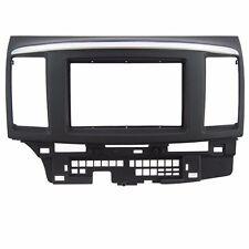 Double Din Fascia Stereo for Mitsubishi Fortis Lancer Dash Mount Trim Kit Frame