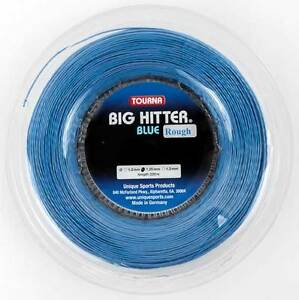 Tourna Big Hitter Blue Rough - 1.25mm 16G 726ft 220m Reel Tennis String