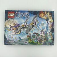 LEGO Elves Airas Pegasus Sleigh 41077 Factory 319 Pieces Damaged Box Retired